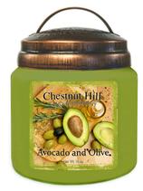 Avocado and Olive - Chestnut Hill Candles - Duftkerze im Vintageglas