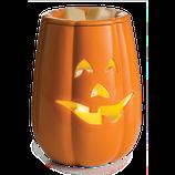 JACK O' LANTERN Kürbis  Duftlampe elektrisch, orange,  Keramik