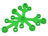 5x Boomblad 6x5 helder groen