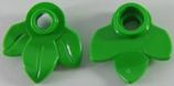10x Blaadjes helder groen