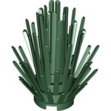 1x struik donker groen