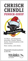 Chrischchindli Punsch/Sirup