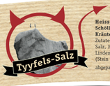 TYYFELS-SALZ Hausspezialität