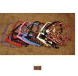 Nylon veulenhalster diverse kleuren