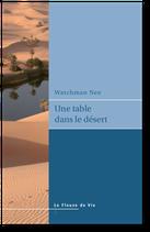 Une table dans le désert