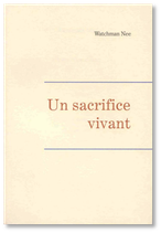 Un sacrifice vivant