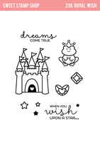 Sweet Stamp Shop Clear Stamps ROYAL WISH