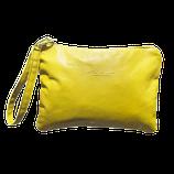 """Pochette """"Sofia"""" colore oro giallo."""