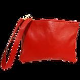 """Pochette """"Sofia"""" colore rosso."""