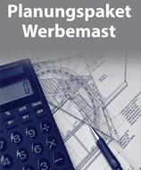 PlanungsPaket Werbemast