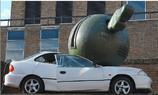 Crash-Car promotion- preiswert und wirkungsvoll.