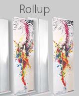 Roll Up, das schnellaufbaubare Präsentationssystem: