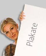 Plakatdruck von Ihrer Datei