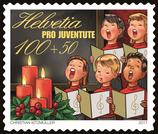 Kleinbogen à 10 x CHF 1.00 Weihnachts-Briefmarke 2017 'Singen'