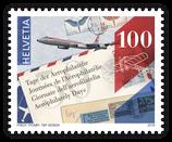 10 Bogen à 6 x 1.00 A-POST 'Tag der Aerophilatelie 2016'