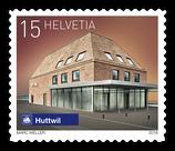 Kleinbogen; 100 x 0.15 'Schweizer Bahnhöfe - Huttwil'