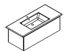 Lanzet K5 - Keramik Waschtisch-Set 120cm - 1 Auszug