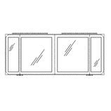 Pelipal Solitaire 7020 - 4 Innenspiegel