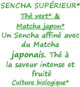 SENCHA SUPERIEUR & MATCHA BIO 100 G