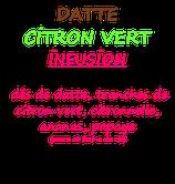 DATTE CITRON VERT 100 G