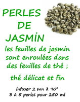 PERLES JASMIN 100 G