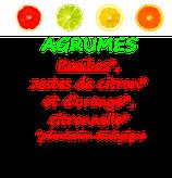 AGRUMES BIO 100 G
