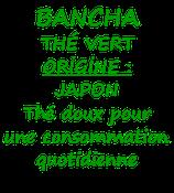 BANCHA JAPON 100G