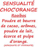 SENSUALITE CHOC'ORANGE 100 G