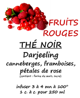 FRUITS ROUGES 100 G