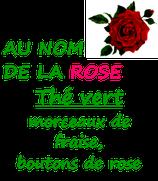 AU NOM DE LA ROSE 100 G