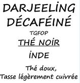 DARJEELING DÉCAFÉINÉ 100 G