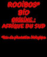 ROOIBOS NATURE BIO 100 G