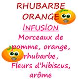 RHUBARBE ORANGE 100 G
