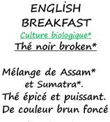 ENGLISH BREAKFAST BIO 100 G