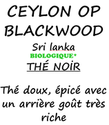 CEYLON OP BLACKWOOD 100 G