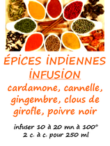 EPICES INDIENNES       100 G