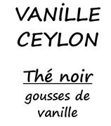 VANILLE CEYLON 100 G