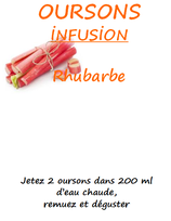 OURSONS RHUBARBE 100 G