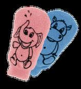 Gant de toilette en coton pour enfants