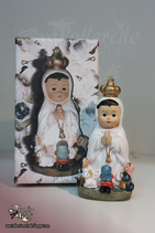 Virgen Infantil 8 cm