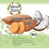 Bio-Süsskartoffel-Suppe-Kokos-Suppe (vegan)