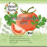 Bio-Tomaten-Koriander-Suppe (vegan)