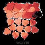 Deco-Konfetti 'Herzen' rot