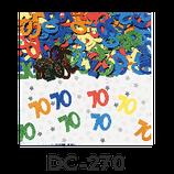 Deco-Konfetti - 70 - bunt