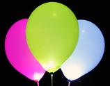 LED-Ballons assortiert 5Stk.