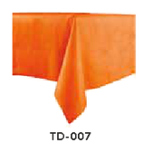 Tisch-Decke ORANGE