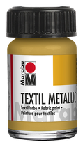Textilfarbe Metallic-Gold 784