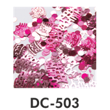 Deco-Konfetti Happy Birthday pink