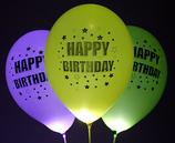 LED-Ballons Happy Brithday 4Stk.
