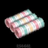 Luftschlangen Happy Birthday Pastell 3Stk.